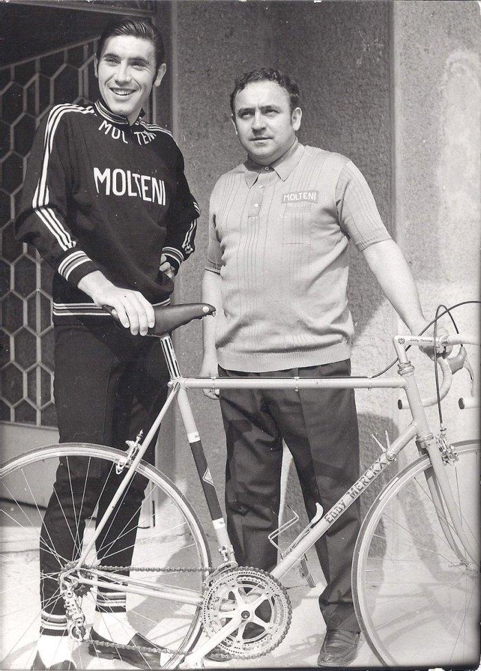 Merckx et Colnago